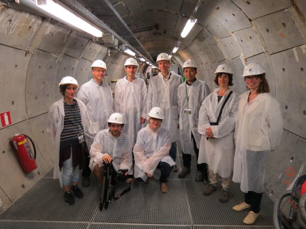 HADES, Nuclear Culture Field Research visit July 2016