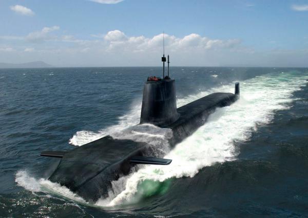 Astute Class Nuclear Submarine