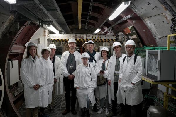 Z33 Nuclear Culture Field Trip to HADES, June 2017