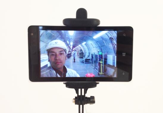 Kota Takeuchi, HADES Field trip Selfie, 2016