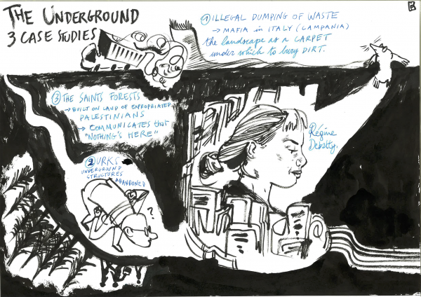 Regine Debatty, Conceptualising the Underground, Visual Report by Pieter Fannes